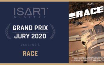 Race : le court métrage vainqueur du grand prix jury ISART DIGITAL 2020