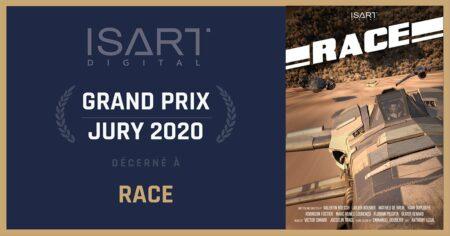 court-métrage race isart digital
