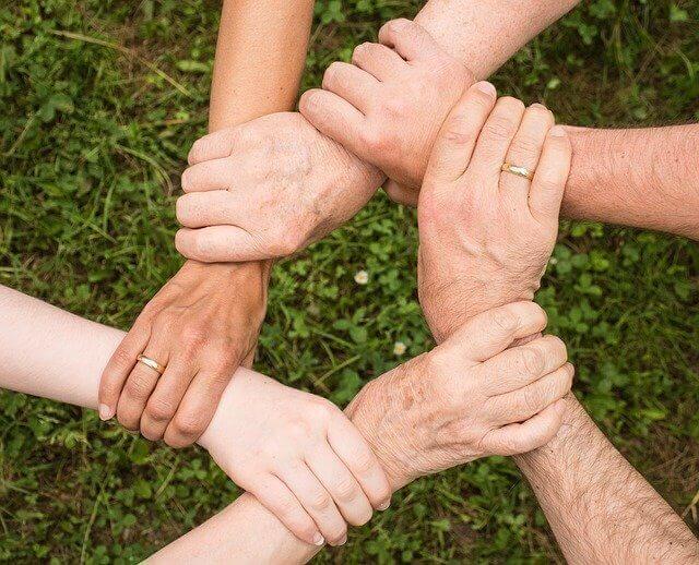 s'engager dans une association - esprit d'équipe