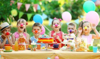fête d'anniversaire d'un enfant de 5 ans