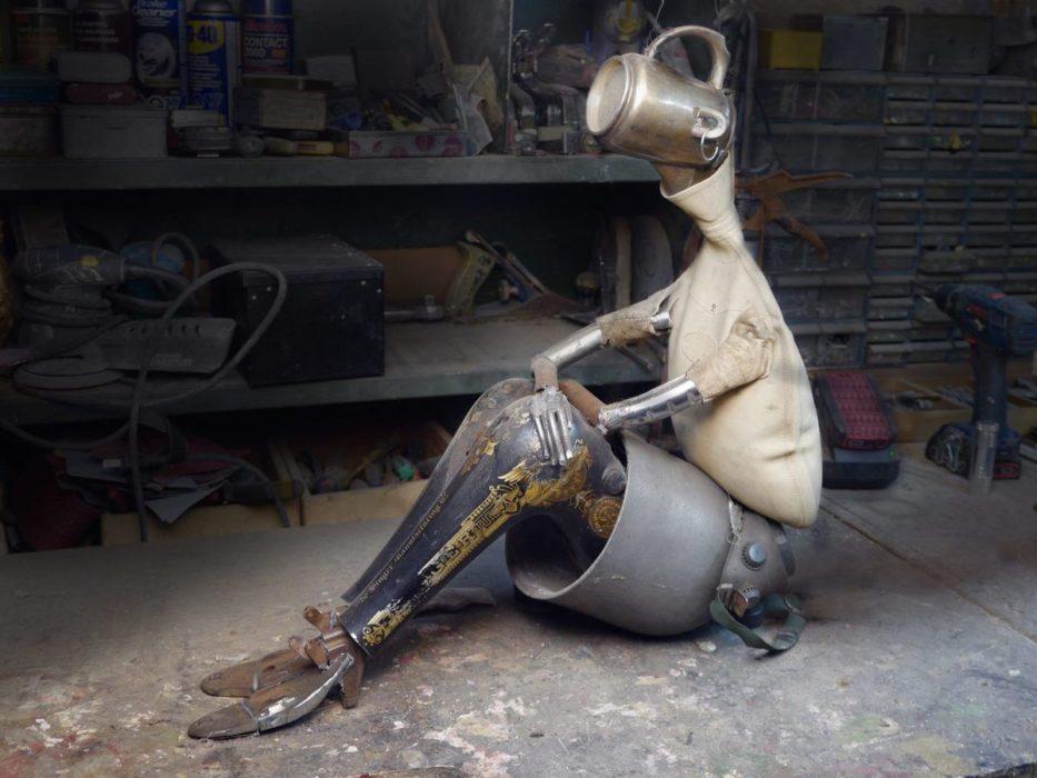 Upcycling et art : Rémi Bergeron
