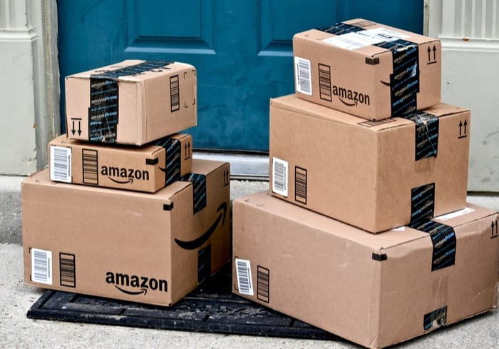 packaging emballage colis amazon