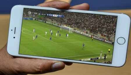 streaming football sur smartphone
