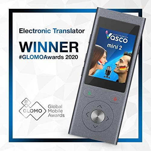 test traducteur vocal vasco mini 2 glomo winner 2020