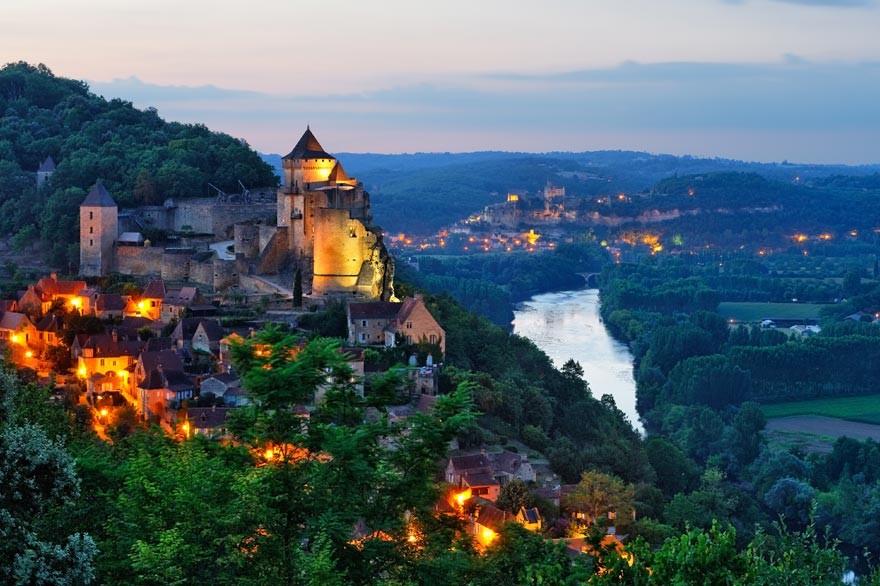 Vacances en France : la Dordogne, ses châteaux et sa gastronomie