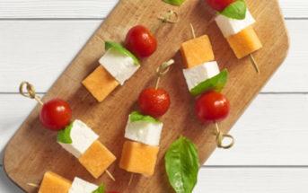 Des brochettes légumes et crudités pour un apéritif d'été léger
