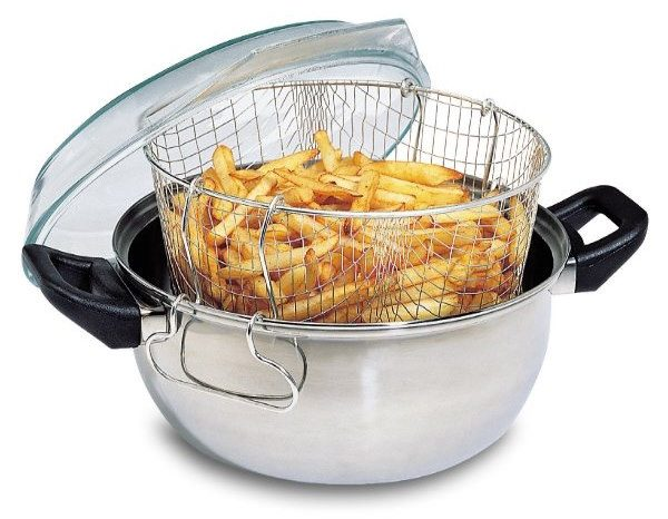 friteuse panier traditionnelle