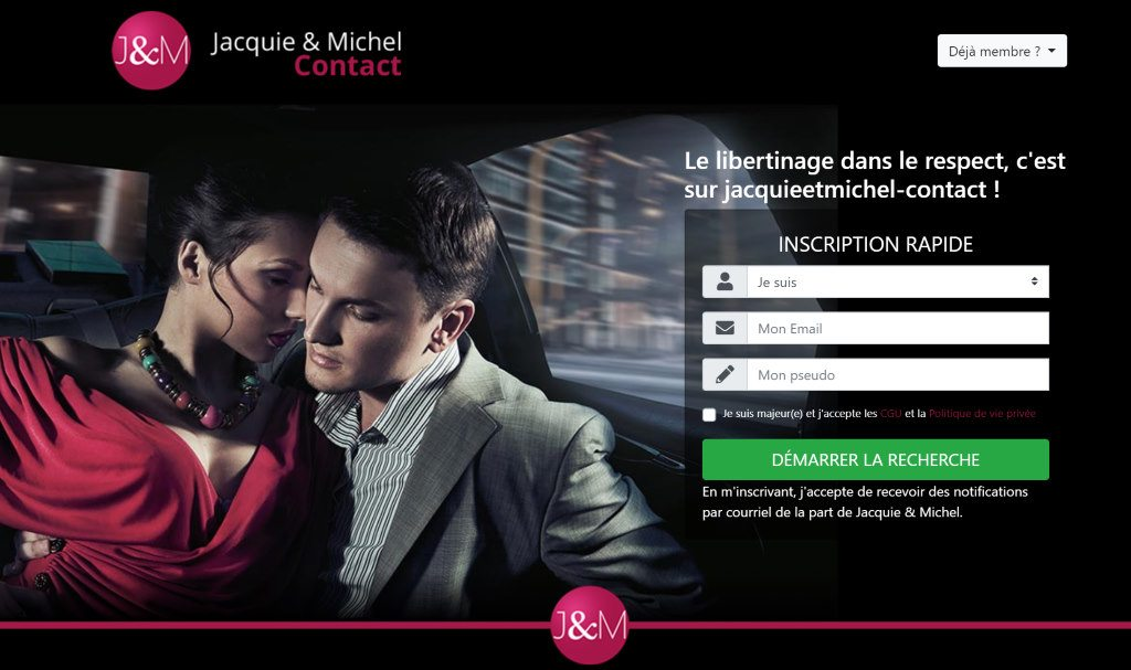 Jacquie & Michel Contact : site de rencontre libertin