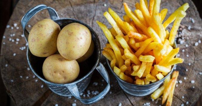 variété patate frite