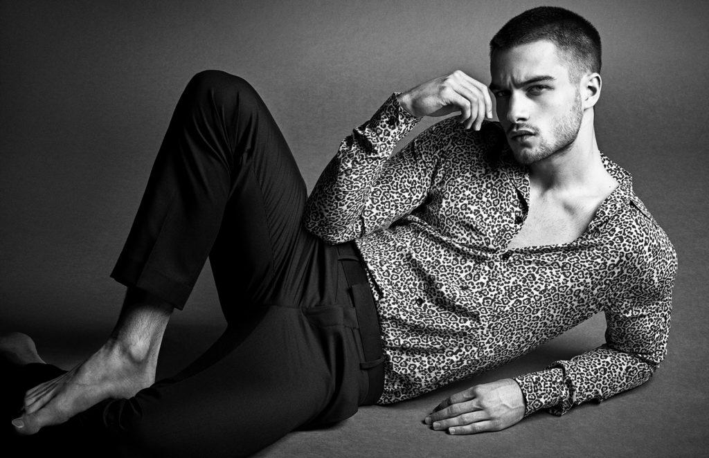 Aleksandar Rusic, mannequin Armani
