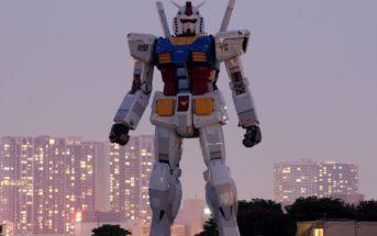 Robot géant : Gundam fait ses premiers pas au Japon