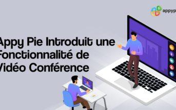 Appy Pie introduit la vidéo conférence sur sa plateforme de création d'application mobile