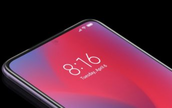 Des smartphones chinois avec caméra frontale sous l'écran