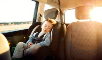 Capteur Tesla anti-oubli d'enfant