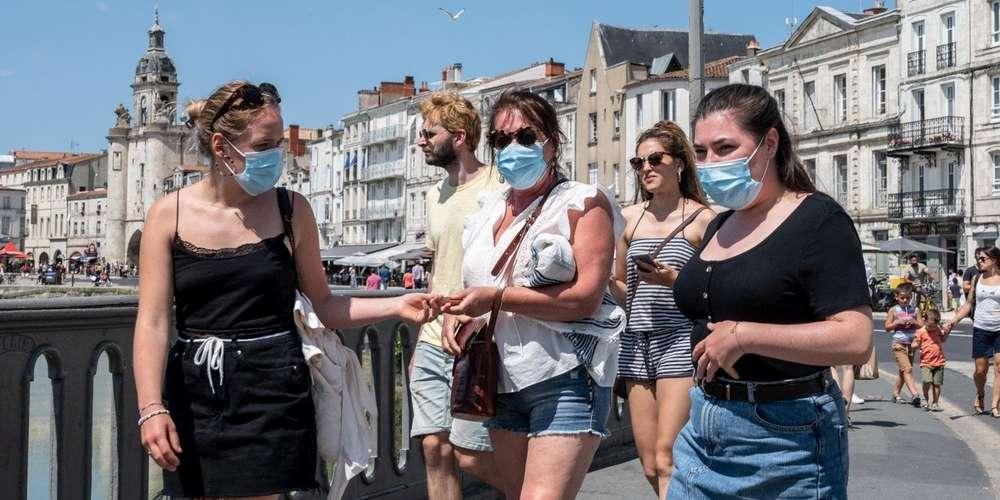 Port du masque obligatoire à La Rochelle