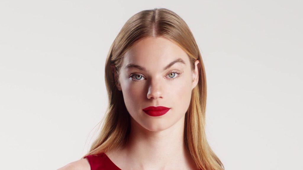Estelle Boersma, mannequin égérie des parfums Nina Ricci