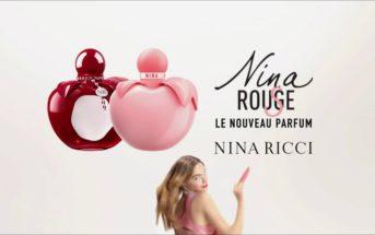 Pub Nina Rouge & Nina Rose avec Estella Boersma & Serge Gainsbourg