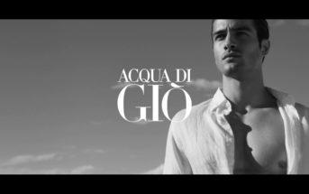 Musique et mannequin de la pub Armani Acqua di Gio Profondo
