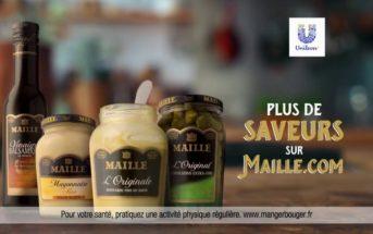 Pub Maille 2020 : Explorez chaque saveur avec les sauces Maille