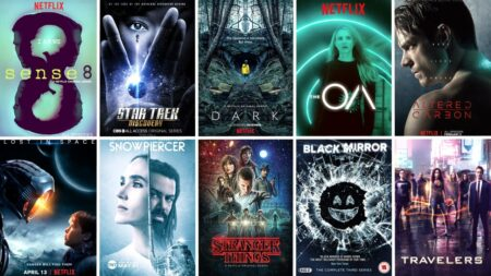 meilleures séries de science-fiction netflix