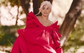 Lady Gaga mannequin et chanteuse de la pub Valentino Voce Viva 2020