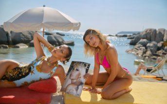 Versace : nouveau parfum représenté par Bella Hadid et Hailey Baldwin