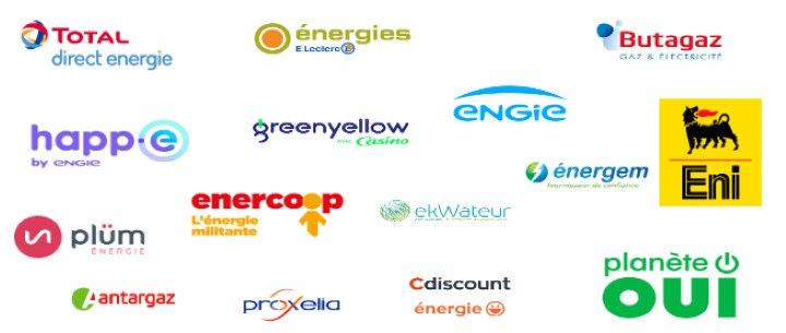 fournisseurs d'électricité France 2020