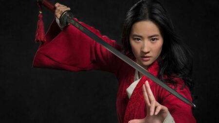 Actrice du film mulan