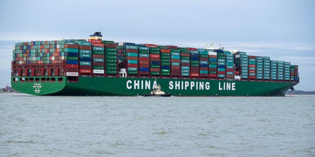 livraison depuis la Chine