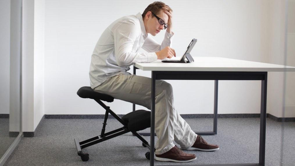 mauvaise position dos bureau