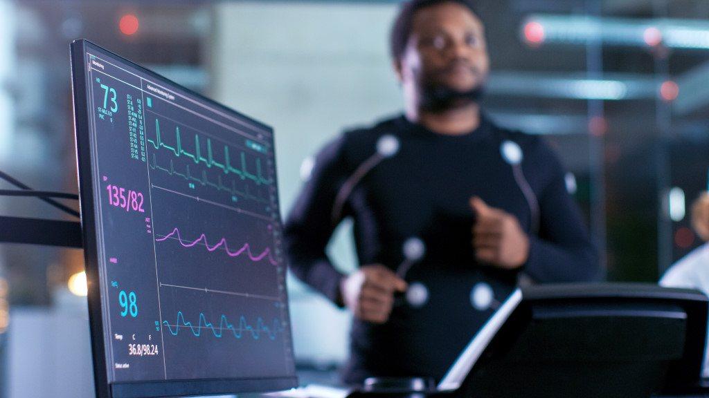test d'effort avec un médecin du sport