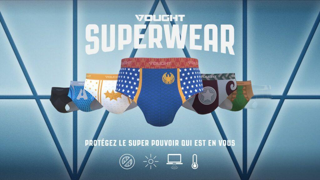 vought superwear the boys