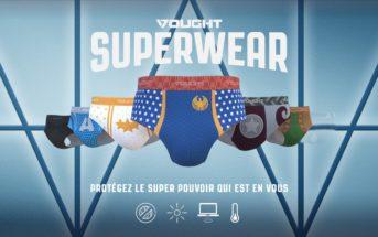 La pub hilarante d'Amazon Prime pour présenter les SuperWear The Boys
