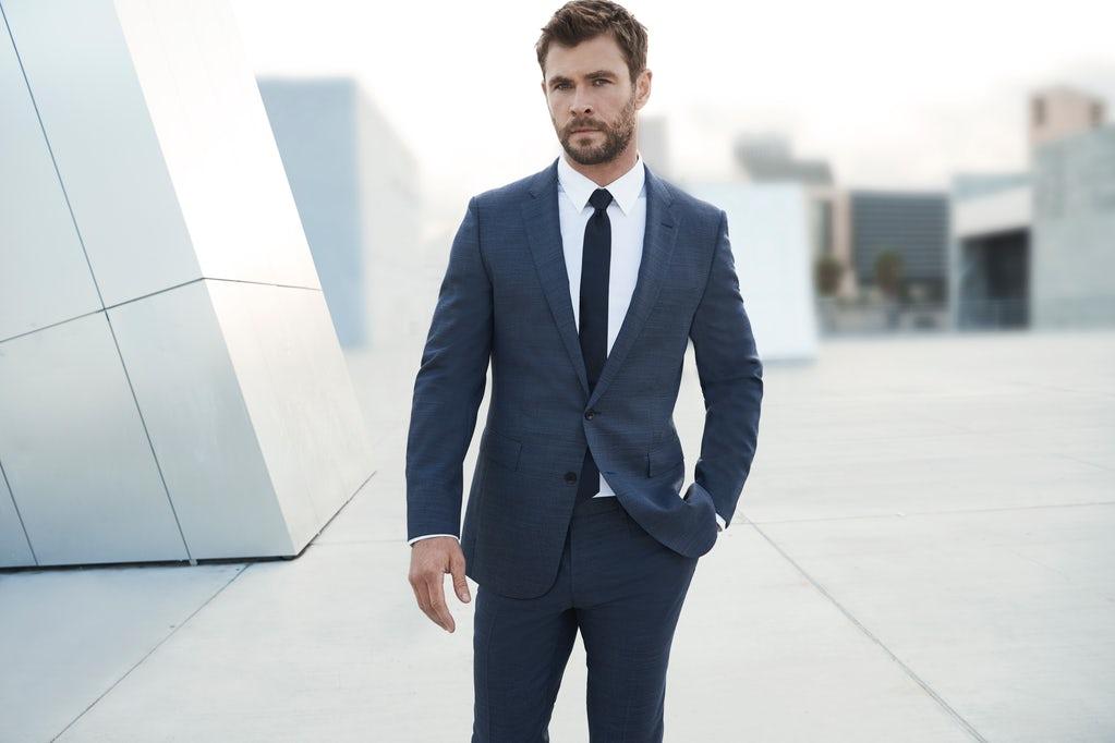 Chris Hemsworth, acteur pub parfum Boss