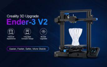 Code promo Creality 3D Ender-3 V2 : l'imprimante 3D à 194€ [Black Friday]