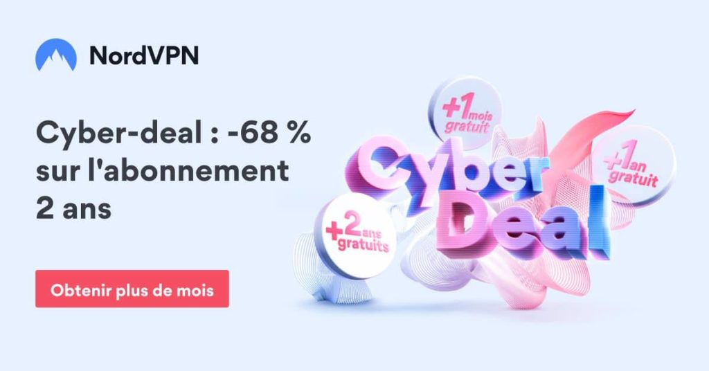 Promo NordVPN Cyber Deal