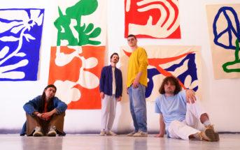 Le jeune groupe Rallye et de leur single électro pop Theoreme