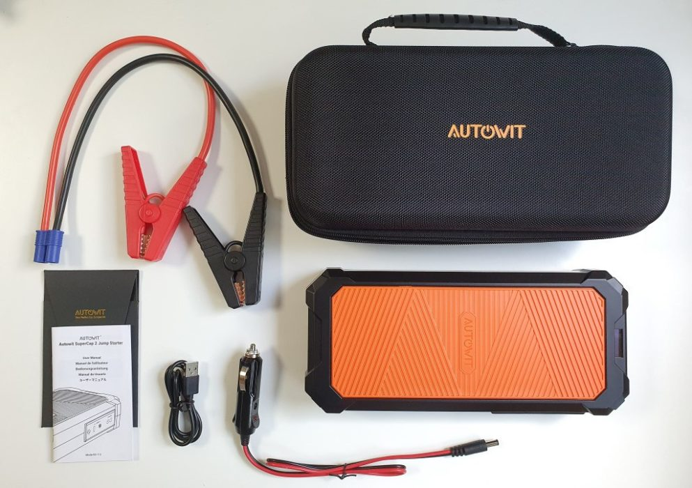 autowit SuperCap 2 Booster Batterie unboxing