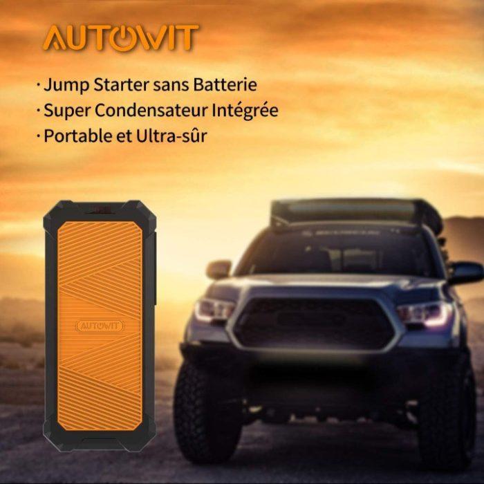 autowit SuperCap 2 Jump Starter