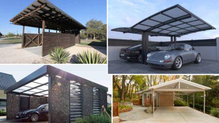 carport pour voiture design