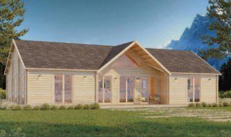 chalet en bois maison