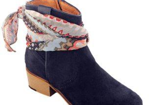 Tendance chaussure 2020 : la botte santiag avec bandana