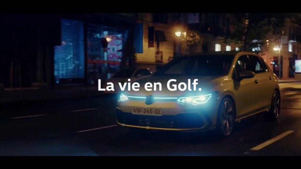 Le Tourbillon de la vie : musique de la pub Volkswagen Golf 8