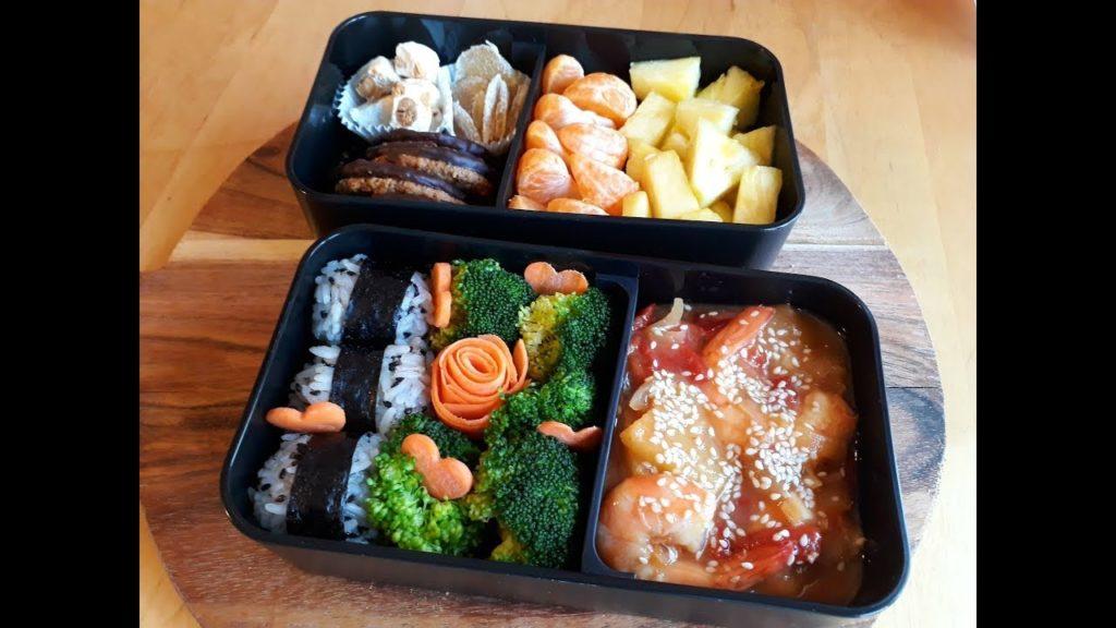 Recettes pour lunchbox bento