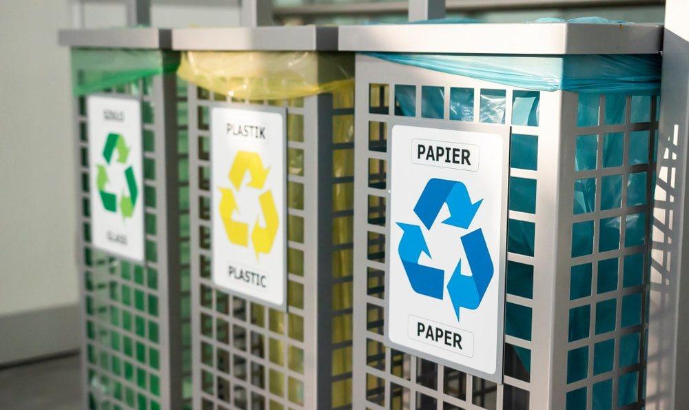 recyclage des déchets en entreprise