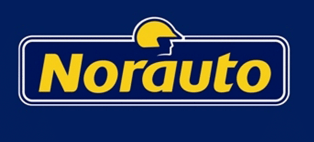 Norauto : logo avec casque jaune