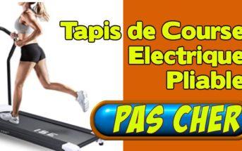 Promo Amazon : -35% sur le tapis de course électrique pliable ISE SY-1001