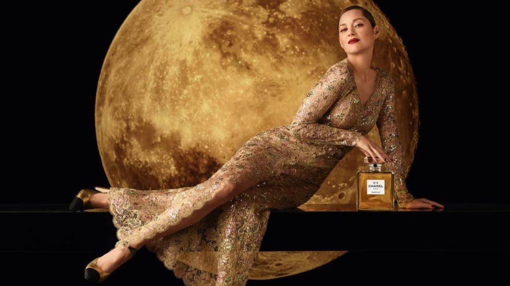 Marion Cotillard égérie du parfum Chanel N°5
