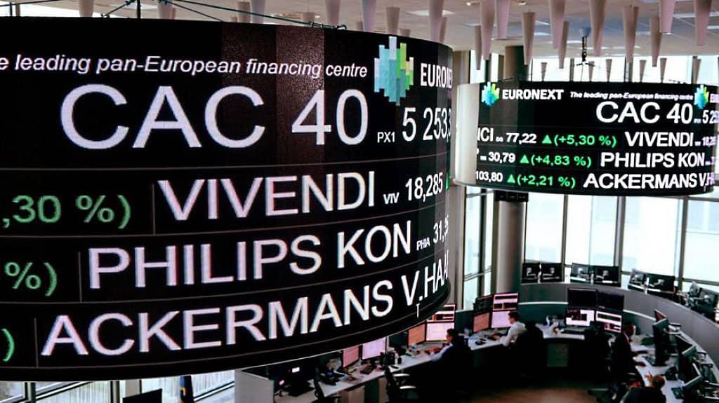 cac 40 : bourse de paris