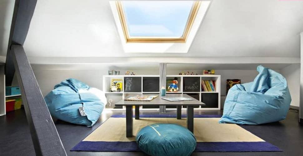 décoration des combles aménageables : mobilier